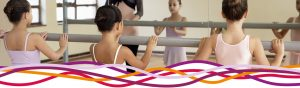 Ballet class at the John Godber Centre