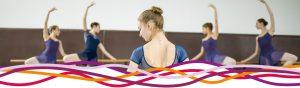 Ballet class at the John Godber Centre