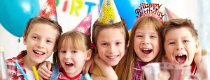 Children's party at the John Godber Centre