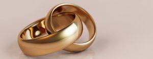 Wedding rings at the John Godber Centre