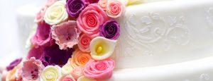 Wedding cake at the John Godber Centre