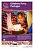 The John Godber Centre Children's Party Brochure