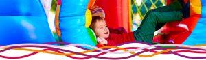 Boys enjoying a soft play party at the John Godber Centre