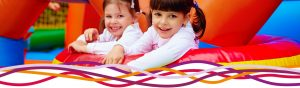 Girls enjoying a soft play party at the John Godber Centre