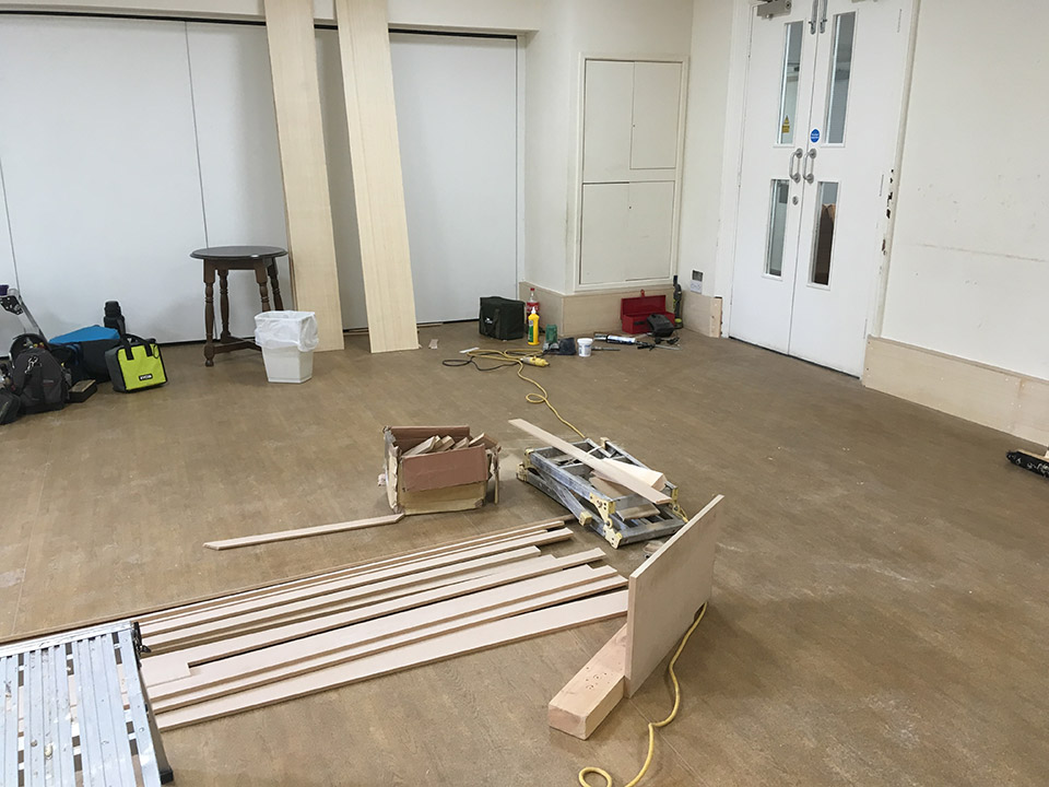 Refurbishment of the Byron Suite at the John Godber Centre