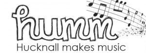 Hucknall Makes Music logo