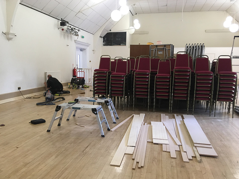 Refurbishment of the Main Hall at the John Godber Centre