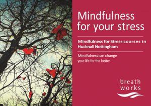 Mindfulness course leaflet front