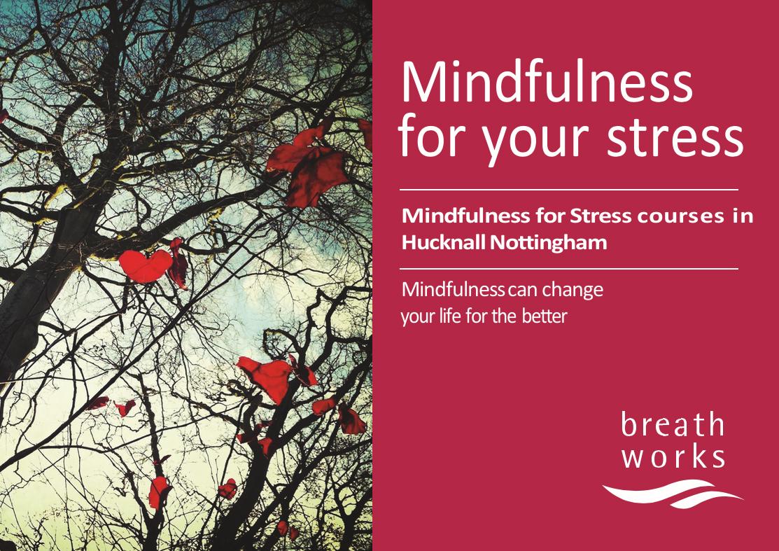 Mindfulness leaflet front