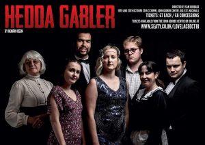 Hedda Gabler theatre event poster
