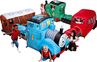 Thomas the Tank Engine themed soft play