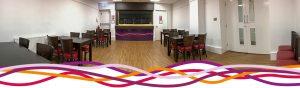 Byron's bar at the John Godber Centre, Hucknall