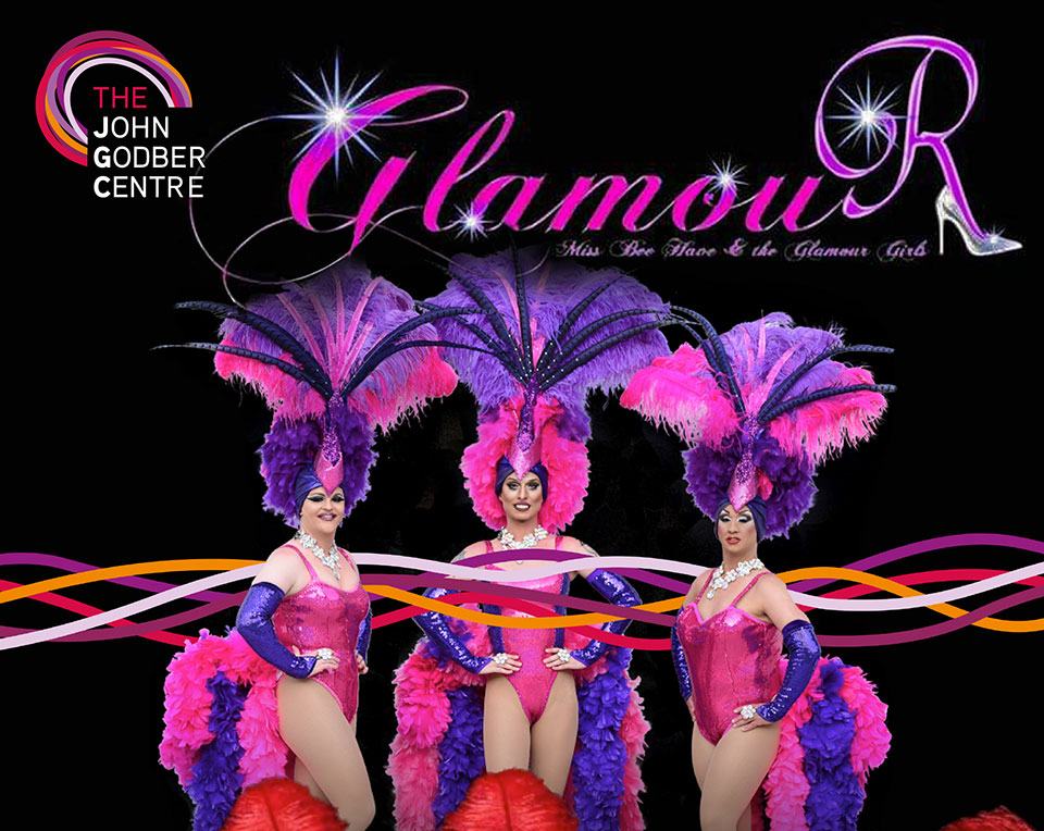 Miss Bee Have & the Glamour Girls tribute act poster