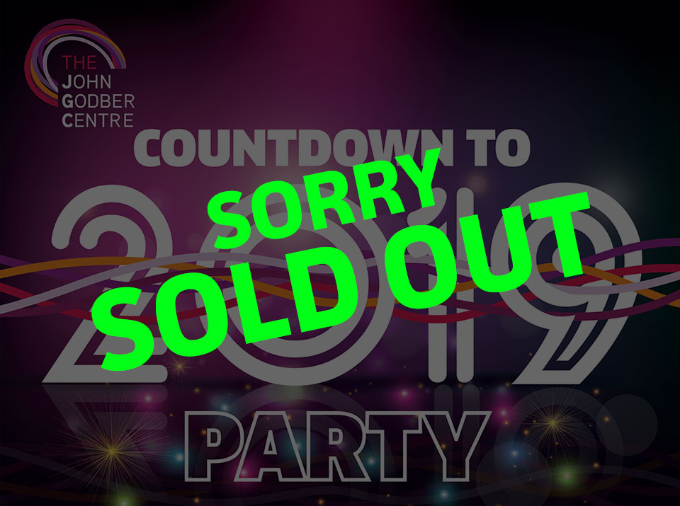 New Year's eve countdown party SOLD OUT graphic