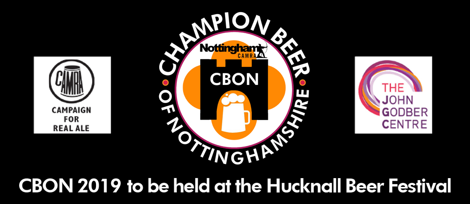 CAMRA Champion Beer of Nottingham 2019 poster header
