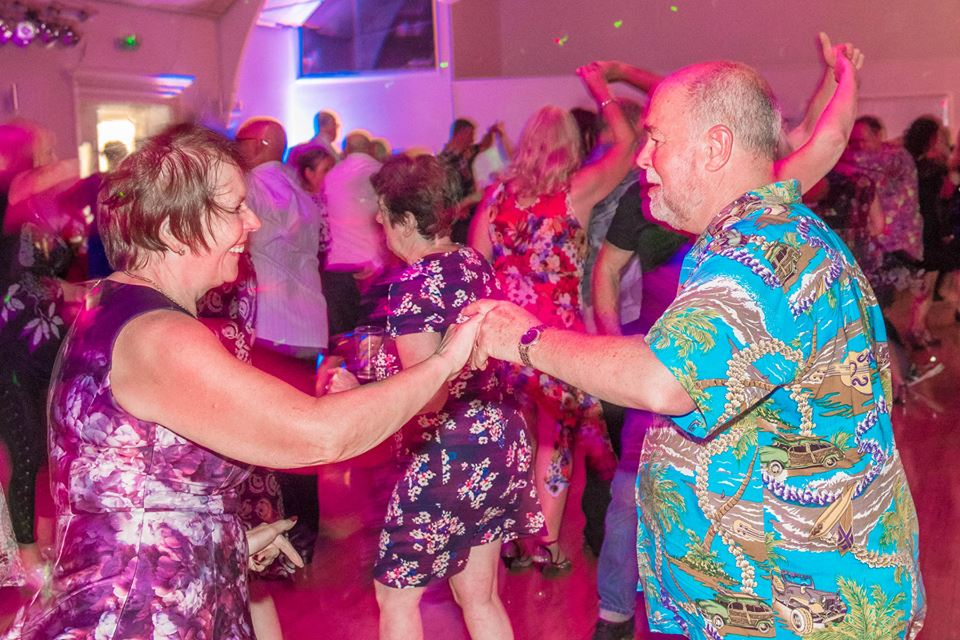 Ceroc freestyle dancing at the John Godber Centre