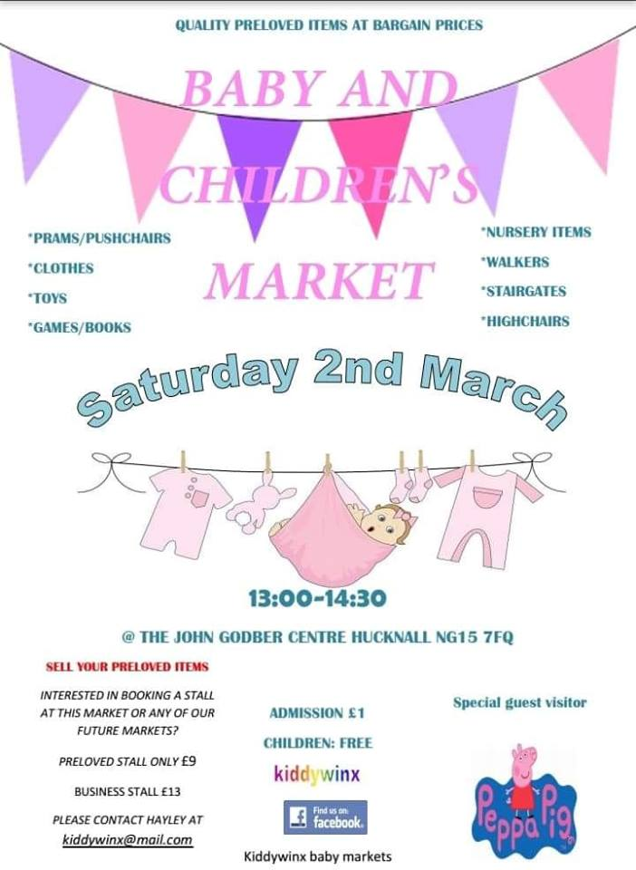 Kiddywinx Baby and Children's Market poster