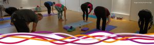 All You Yoga class in the Studio at the John Godber Centre