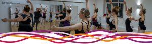 Ballet class at Sarah Adamson School of Dance at the John Godber Centre