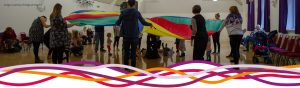Magical Movers toddlers activity at the John Godber Centre, Hucknall