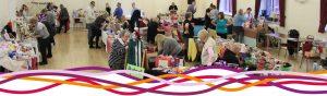 Christmas Fair stalls in the main hall, 2017