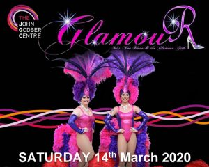 Miss Bee Have and the Glamour Girls event poster March 2020