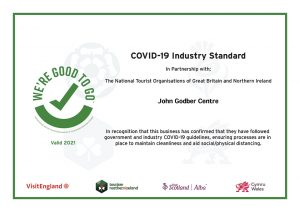 We're Good To Go certificate 2021