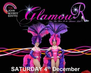 Miss Bee Have and the Glamour Girls event poster December 2021