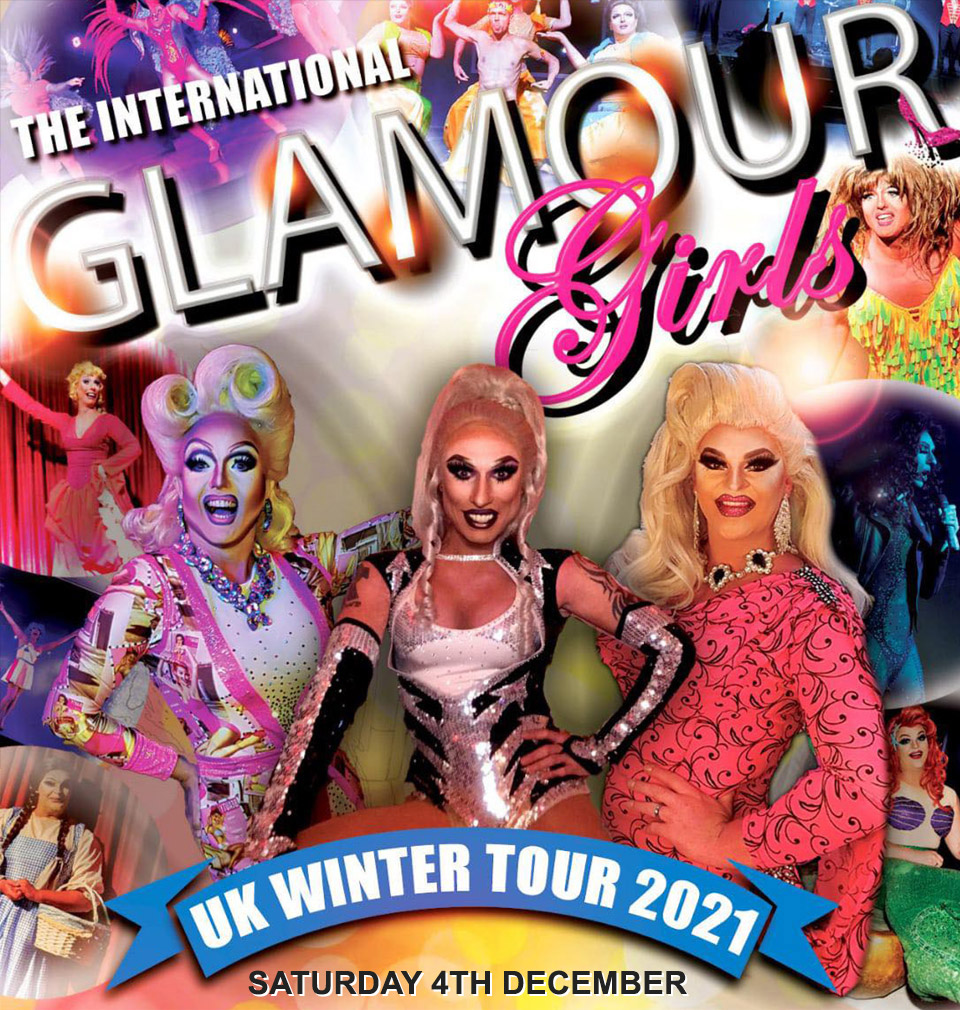 The International Glamour Girls event poster